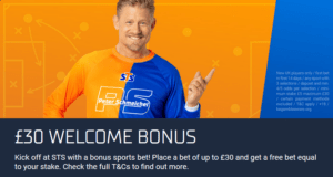 stsbet welcome bonus